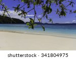 tropical beach scenery  andaman ... | Shutterstock . vector #341804975