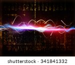 data stream series. interplay... | Shutterstock . vector #341841332