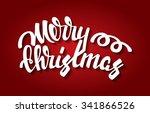merry christmas vector... | Shutterstock .eps vector #341866526