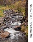 sedona arizona on a rainy... | Shutterstock . vector #341874395
