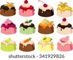 vector illustrations of various ... | Shutterstock .eps vector #341929826