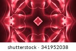 abstract red neon lights... | Shutterstock . vector #341952038
