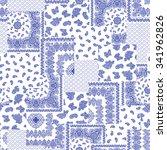 bandanna pattern design | Shutterstock .eps vector #341962826