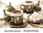 Turkish Coffee With Delight An...