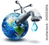 Concept Of Water Conservation...