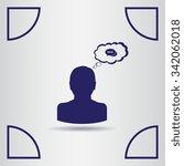 chat icon  vector illustration...