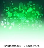 christmas background with bokeh | Shutterstock .eps vector #342064976
