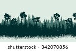 horizontal abstract... | Shutterstock .eps vector #342070856