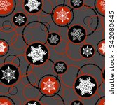 seamless pattern background... | Shutterstock .eps vector #342080645