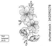 Vector Eps 10 Floral Background ...