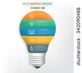 light bulb info graphic design. ...
