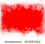winter background with... | Shutterstock .eps vector #342092462