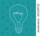 slide presentation of ideas...   Shutterstock .eps vector #342109712