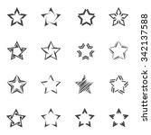 star pictogram | Shutterstock .eps vector #342137588