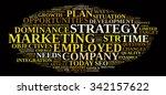 marketing strategy illustration ... | Shutterstock . vector #342157622