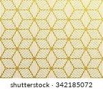 Seamless Geometric Gold...