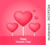 happy valentine's day | Shutterstock .eps vector #342195266