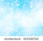 winter background with... | Shutterstock . vector #342200762