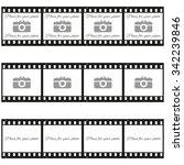 fully vector set of three ... | Shutterstock .eps vector #342239846
