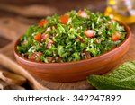 a bowl of delicious fresh... | Shutterstock . vector #342247892