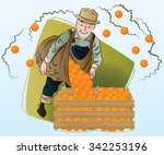 vector stock illustration.... | Shutterstock .eps vector #342253196