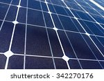 Detail Of A Photovoltaic Panel...