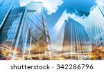 modern buildings composition... | Shutterstock . vector #342286796