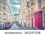 montmartre in paris | Shutterstock . vector #342297338