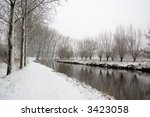 winter landscape | Shutterstock . vector #3423058
