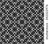 abstract black and white... | Shutterstock .eps vector #342322976