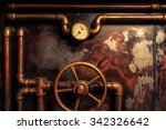 Background Vintage Steampunk...
