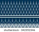 geometric ethnic pattern... | Shutterstock .eps vector #342352346