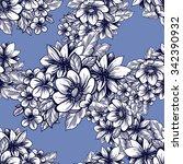 abstract elegance seamless... | Shutterstock .eps vector #342390932