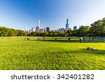new york   august 22  views of... | Shutterstock . vector #342401282