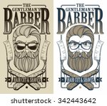 barber logo | Shutterstock .eps vector #342443642