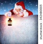 Santa Claus On Vintage...
