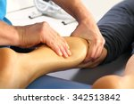 massage and rehabilitation.... | Shutterstock . vector #342513842