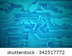 Computer Electronic Circuit.