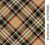 tartan plaid seamless pattern... | Shutterstock .eps vector #342538682