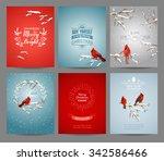 Set Of Christmas Brochures And...