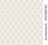 vector seamless pattern with... | Shutterstock .eps vector #342588782