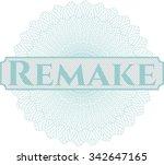 remake abstract rosette   Shutterstock .eps vector #342647165