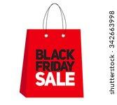 black friday sale label... | Shutterstock . vector #342663998