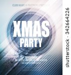 Christmas Night Party Poster O...