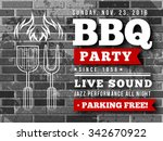 bbq party vector illustration | Shutterstock .eps vector #342670922