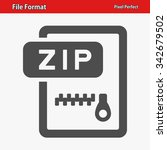 file format icon. professional  ... | Shutterstock .eps vector #342679502