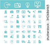 online education  learning ... | Shutterstock .eps vector #342686465