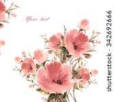 Floral Watercolor Bouquet Of...