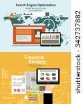 flat design illustration... | Shutterstock .eps vector #342737882