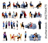 family and relationship... | Shutterstock .eps vector #342754475